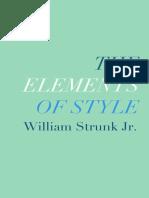 William Strunk, E. B. White - The Elements of Style.epub