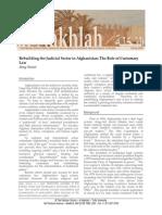 Senier - Rebuilding the Judicial Sector in Afghanistan