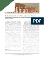 Finkelman  - The Constitution and its Interpretation