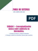 1 - Auditoria Informatica y Tipos