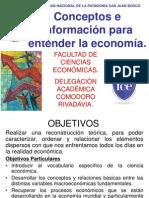 Conceptos e información para entender la economía