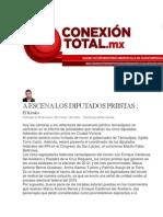 28-03-2014 Conexión Total.mx - A ESCENA LOS DIPUTADOS PRIISTAS.