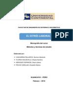 Monografia El Estres