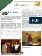 Boletin 123 Misiones en Sudafrica Septiembre 2009