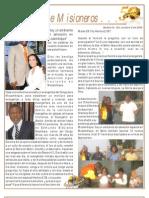 Boletin 124 Informe Misionero Mozambique_octubre 2009