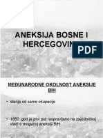 Aneksija Bosne i Hercegovine