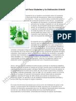 Remedio Natural Para Diabetes y La Disfuncion Erectil