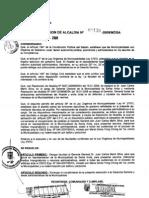 RESOLUCION DE ALCALDIA Nro° 131-2009/MDSA