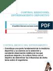 Control Medicodel Entrenamiento Deportivo