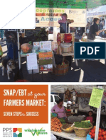 SNAP-EBT at Your Farmers Market; Seven Steps to Success