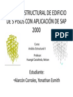 ANÁLISIS ESTRUCTURAL DE EDIFICIO DE 5 PISOS CON