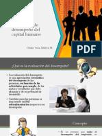 Evaluación de desempeño del capital humano