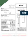 MPSA94-datasheet