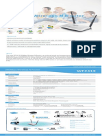 Netis Wireless WF2419 Datasheet V1.0