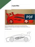 98339664 Cama Ferrari Para Nino