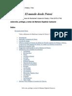 Bartolomé Arzans de Orsúa y Vela