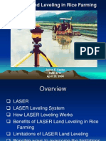 LASER Land Leveling in Rice Farming