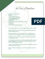 Flan de Coco y Pistachos