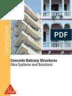 Concrete Balconystructures