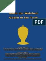 Goblet of the Truth - Kelch Der Wahrheit German-British English