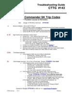 Emerson Common Commander SK Trip Codes