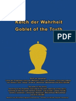 Goblet of the Truth - Kelch Der Wahrheit German-British English