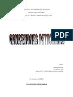 CONCESIONES PETROLERAS