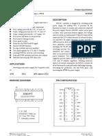 SG6105D Data sheets