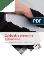 2008 - Zakboekje preventie cybercrime