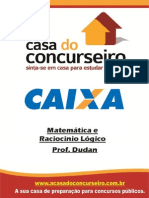 Apostila CEF MatematicaeRaciocinioLogico Dudan