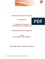 Informacion General de La Asignatura ADO
