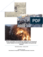 Corcoran - Drone Journalism During Conflict, Civil Unrest and Disasters