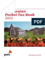 Indonesian Pocket Tax Book 2013