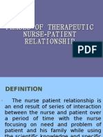 essay on empathy in therapuetic relationship in nursing care Professional boundaries for therapeutic nursing care the therapeutic relationship between the empathy and understanding of the health care.