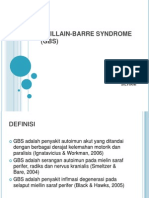 Saraf Guillain-barre Syndrome (Gbs)