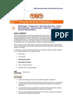 JOB Announcements & Recruitment Services