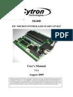 SK40B User Manual