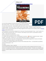 ! 1 a High Intensity Training_What is It