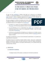 ENCUESTA Y ÁRBOL DE PROBLEMAS