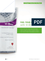 Body by Vi Shake Mix Fact Sheet & Nutrition Guide