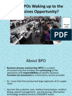 Moving of Indian BPO to Philippines