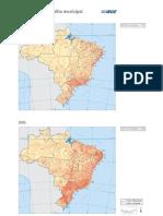 Brasil Evolucao Malha Municipal