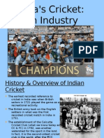 Cricket an Industry