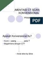 2.Instrumen Ct Scan Konvensional