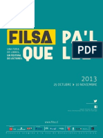 Catalogo Expositores FILSA 2013