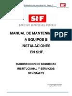 Manual de Mantenimiento Shf