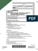 IAL Mathematics Sample Assessment Material | Gce Advanced