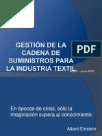 César Tello - SCM en Empresas de Confecciones
