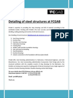 Detailing of Steel Structures at FCGAB