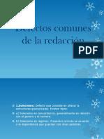 Defectos Comunes de La Redaccion (1)